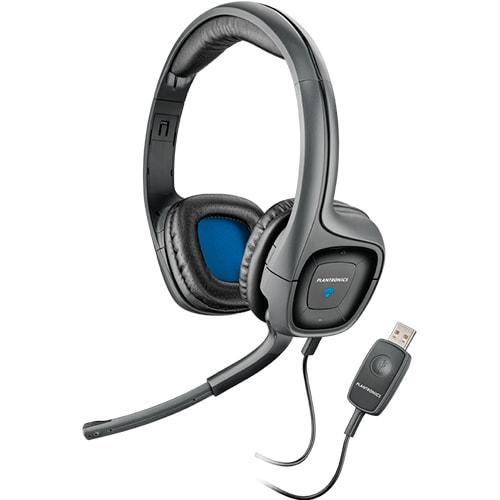 Наушники Plantronics Audio 655 накладные с микрофоном для компьютера в USB  порт be33d281e9d68