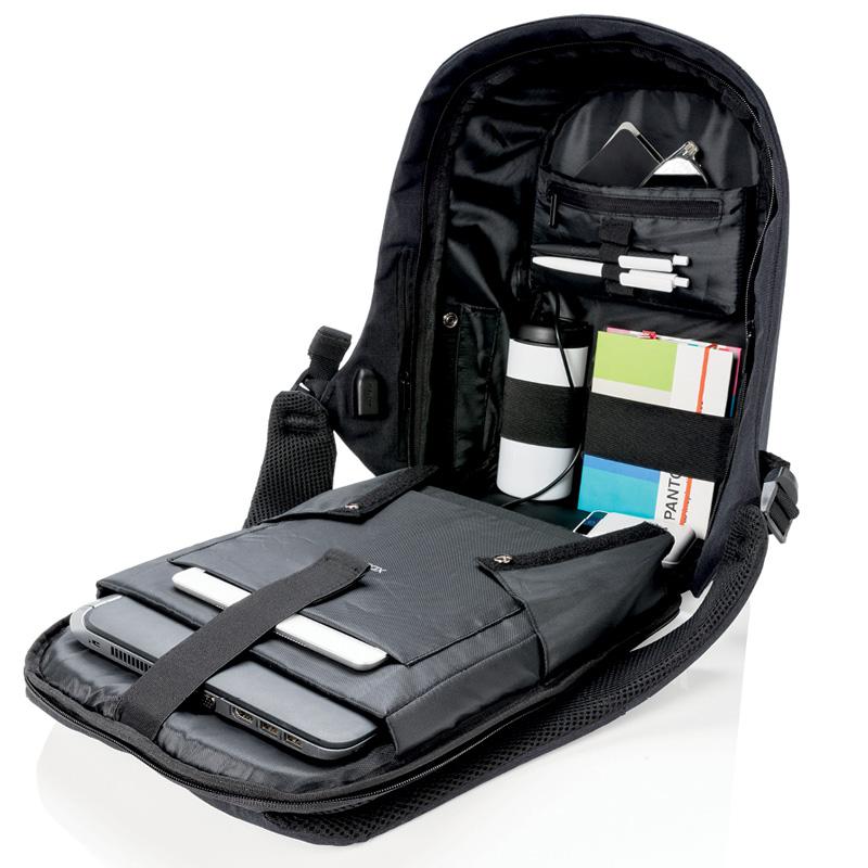 Рюкзак XD Design Bobby Compact Print с отделением для ноутбука до 14 дюймов  и USB портом ... d8a1e2761aa