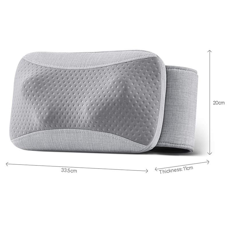 Массажная подушка (массажер) универсальная Шиацу с подогревом Naipo oPillow-P1
