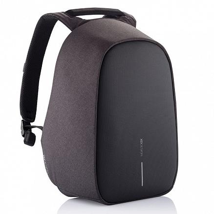 Рюкзак XD Design Bobby Hero Small с отделением для ноутбука до 13,3 дюйма и USB портом антивор черный